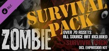 Axis Game Factory's AGFPRO - Zombie Survival Pack DLC