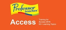 Professor Teaches Access 2016