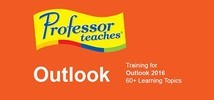 Professor Teaches Outlook 2016