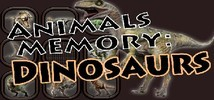 Animals Memory: Dinosaurs