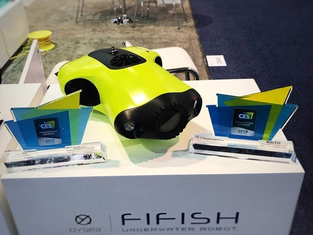 Best OF CES2019:鳍源FIFISH水下机器人