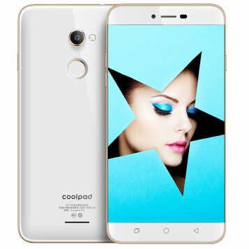 酷派(Coolpad) 锋尚Pro2 Y91-921 全网通4G 智能手机 双卡双待 白色 (3G RAM+16 GROM)
