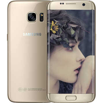 三星(SAMSUNG) Galaxy S7 edge(G9350)手机 铂光金 全网通(4G+64G)