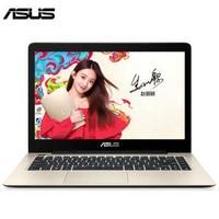华硕(ASUS) 超薄笔记本电脑A456UR7200游戏14英寸i5学生上网轻薄便携手提 标配i5+120G固态 金