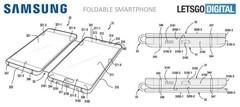 三星折叠手机专利图曝光 外媒认为其设计很糟糕