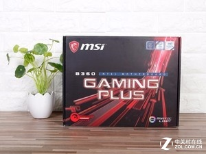 主流实用爆款 微星B360 GAMING PLUS主板