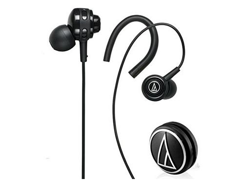 铁三角 ATH-COR150 BK 耳挂式/耳塞式两种佩戴方式随心换