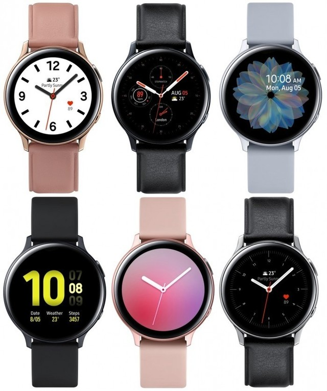 三星Galaxy Watch Active2详细配置曝光