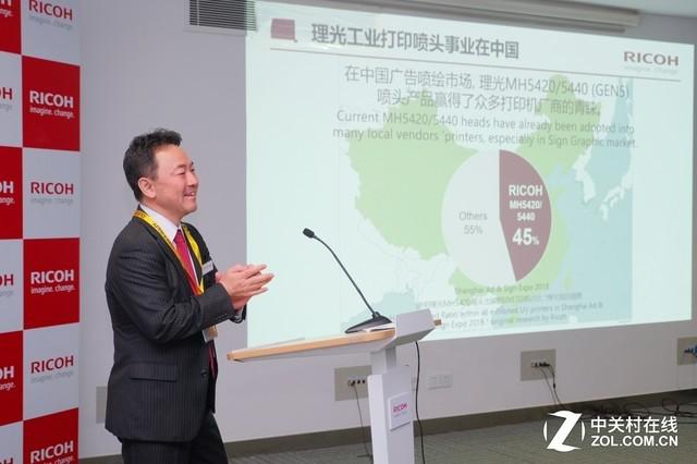 高寿命高画质理光国内首发Gen6工业喷头