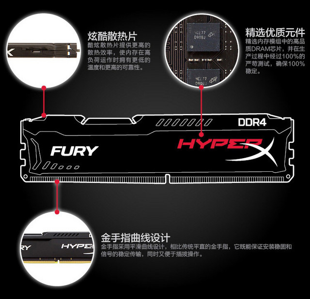 恒盈推荐:高性价比FURY DDR4 真正好内存