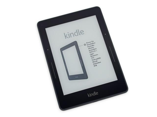 4GB存储旗舰阅读器 Kindle Voyage 拆解