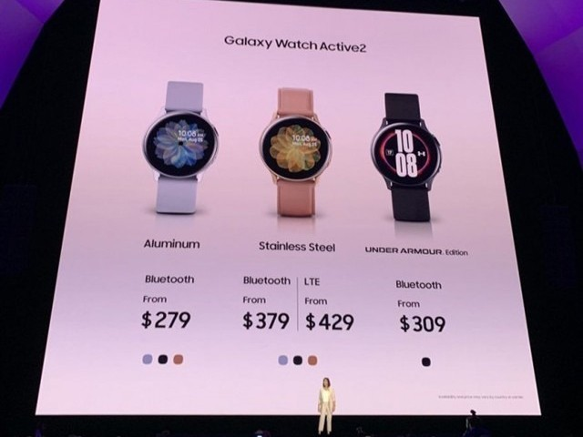 官宣:Galaxy Watch Active2 9月28日开启预售