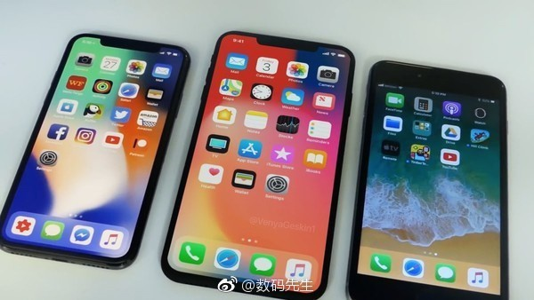 iPhone X Plus曝光 6.5英寸更为震撼