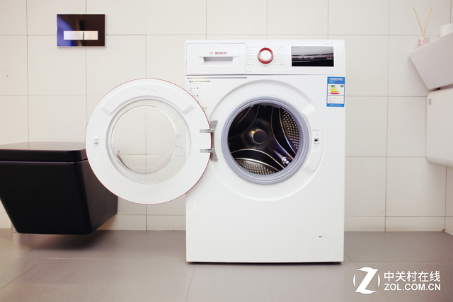 精致生活随心享 博世变频滚筒洗衣机详测