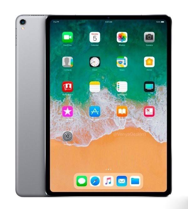 新iPad Pro概念图曝光:全面屏 无刘海