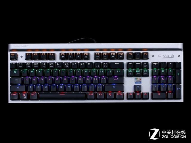 清脆光轴 狼派X21 CIY3.0机械键盘评测