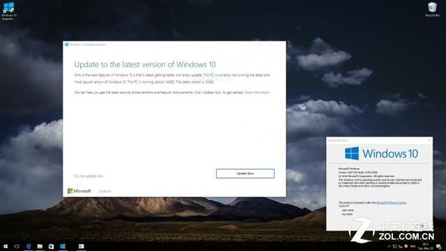 免下镜像 Windows 10升级助手抢先偷跑正式版