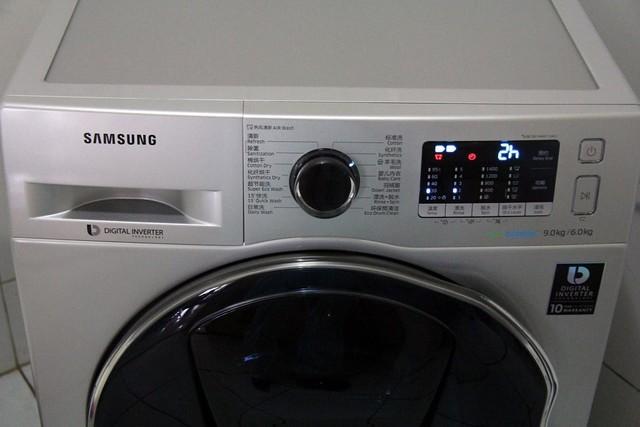 三星蝶窗·蓝水晶洗衣机 洁净呵护 尽享安心生活