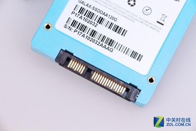 青春时尚 影驰新品ONE 120G SSD热卖