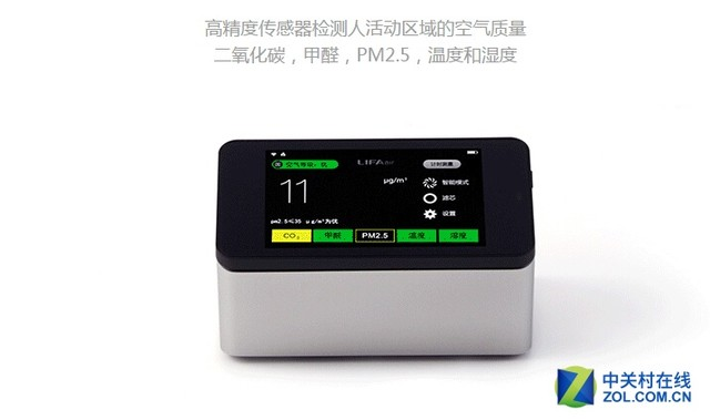 兼具性能和颜值 LIFAair空气净化器热销