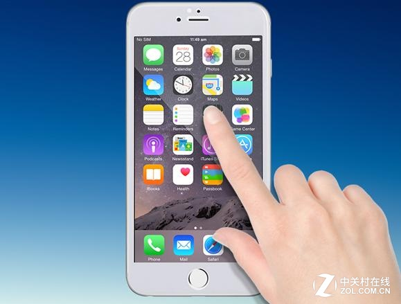 防碎易贴全覆盖 摩米士iPhone6钢化膜