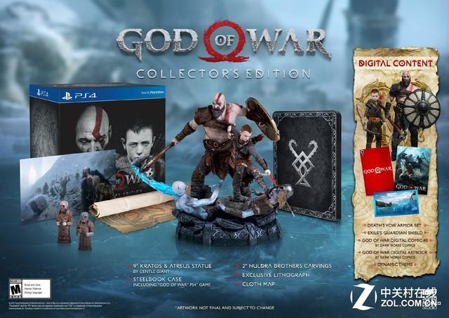 4月20日发售!PS4《战神4》游戏发售日确认