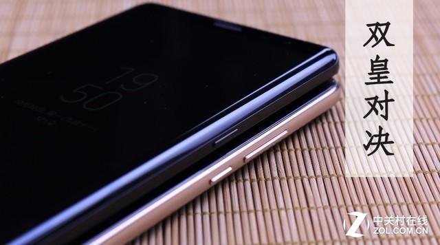 """三星 Note8华为 Mate10  双""""皇""""对决(不发)"""
