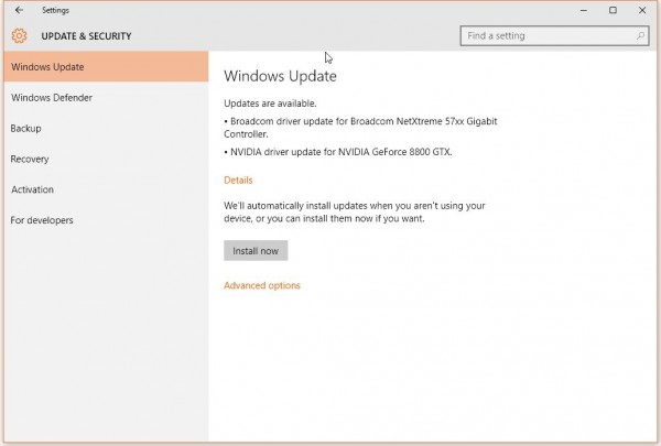 更新日志将不再现身消费版Windows 10