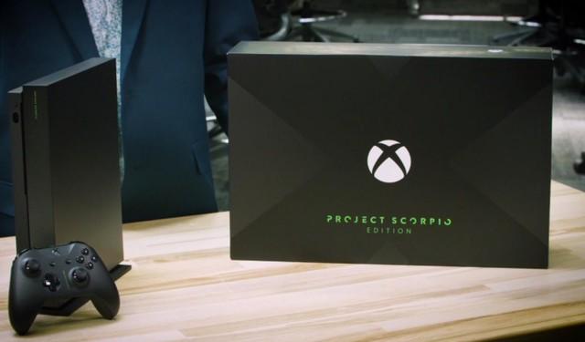 微软Xbox One X预售 首发限定版价格曝光
