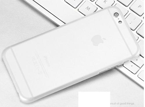 超薄磨砂iphone6手机壳 6plus手机套