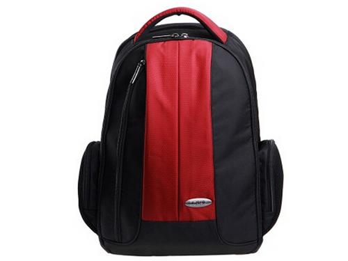 开学惠 dostyle LC103双肩电脑包14寸韵酒红