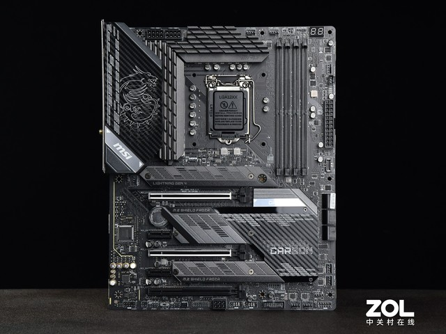 微星 MPG Z590 GAMING CARBON WiFi评测