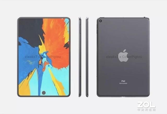 全面屏+屏下指纹?iPad mini 6曝光