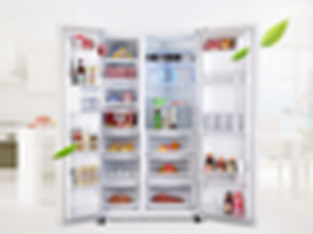 风冷无霜锁住新鲜 LG对开门冰箱下单享优惠